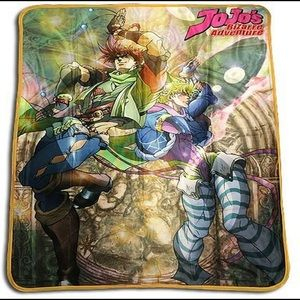 Jojo's Bizarre Adventure Throw Blanket